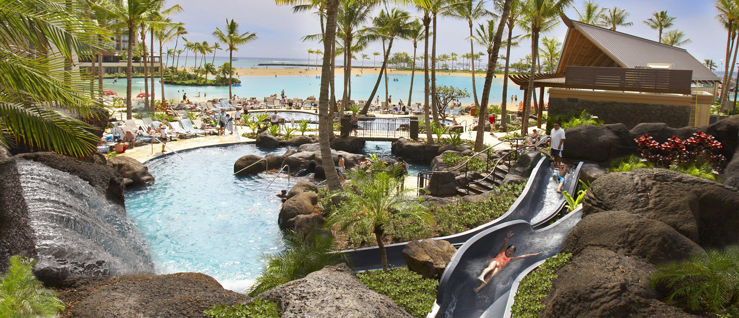 Best Pools and Slides in Waikiki