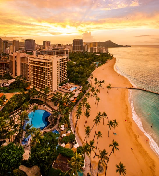Hilton Hawaiian Village Waikiki Beach Resort Honolulu Hotels