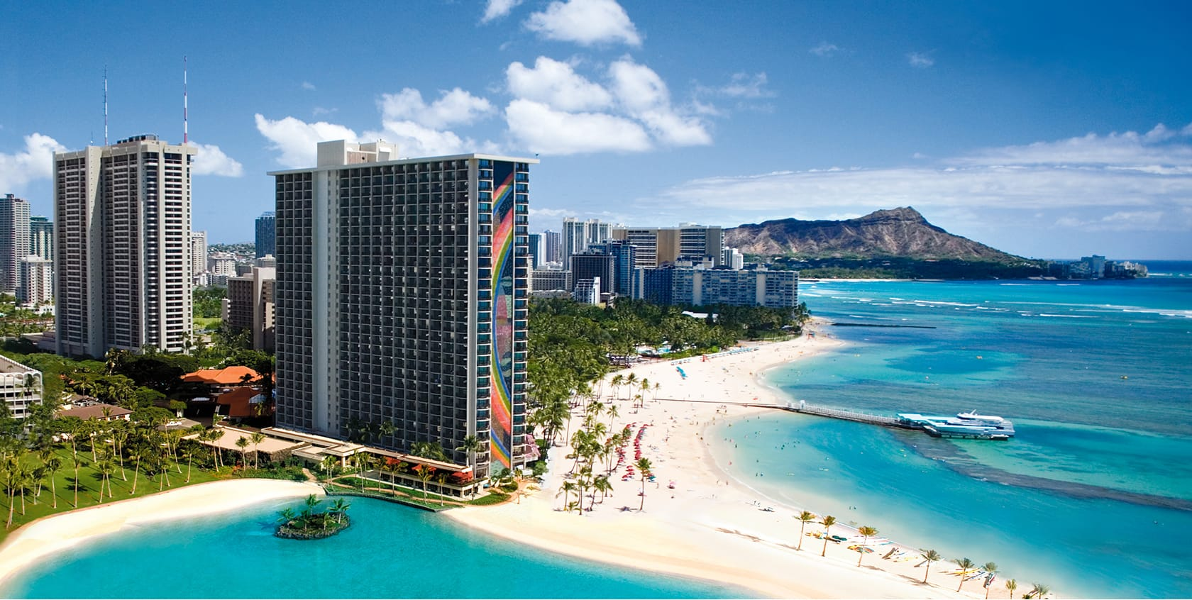 Of Beach In Waikiki
