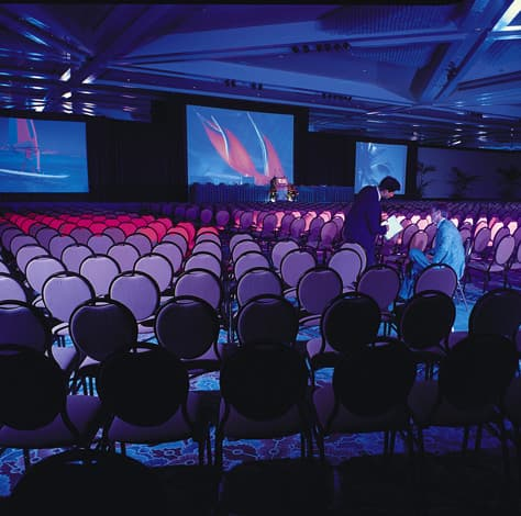Conference in the Tapa Ballroom