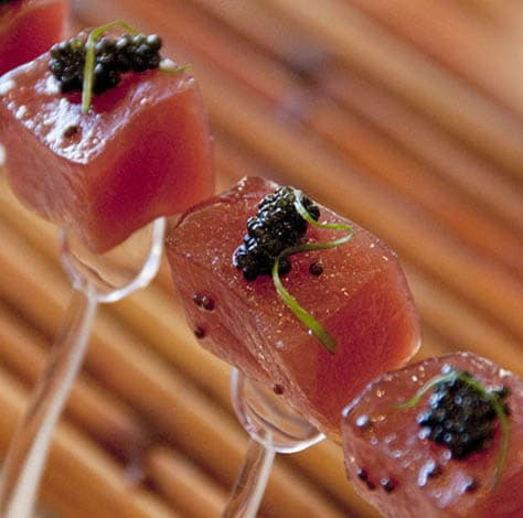 Ahi Lollipops