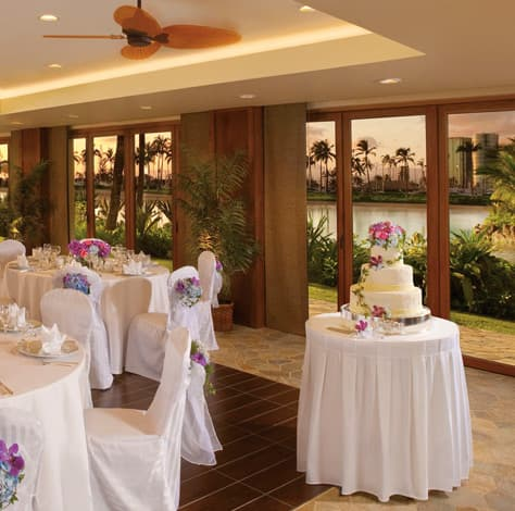 Wedding in the Rainbow Suite