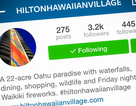 The #AlohaSelfie Contest on Instagram