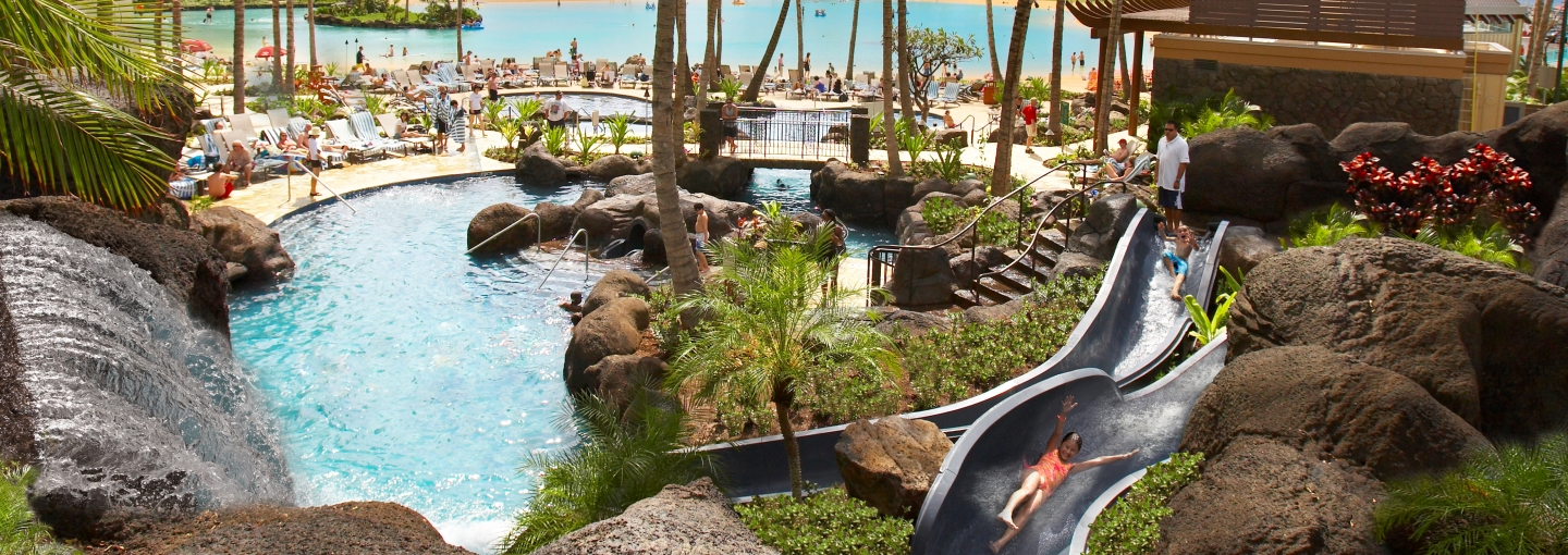 Hilton Hawaiian Village Pools